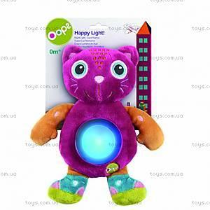 Мягкая игрушка «Котик Джерри» с подсветкой, 625