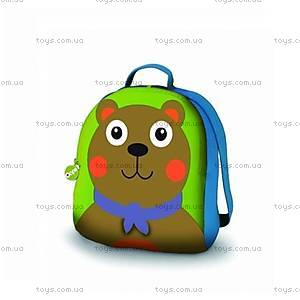 Рюкзак мягкий «Медвежонок Шоколад», 00856