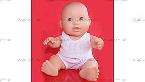 Кукла-пупс «Младенец европеец», 01003