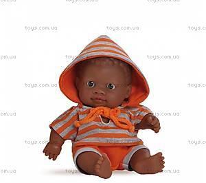 Пупс-мулат в оранжевом костюме, 01200