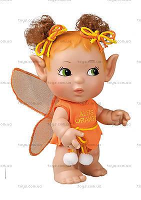 Детская кукла «Эльф», оранжевая, 02553
