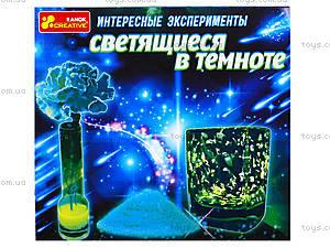 Набор для творчества «Интересные опыты, которые светятся в темноте», 0389-01, отзывы