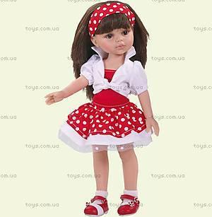 Детская кукла «Керол» в красном, 04557