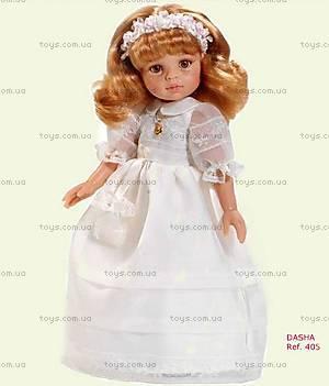 Детская кукла «Даша» в праздничном платье, 04805