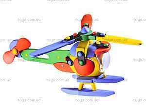 Пластиковый конструктор для детей «Вертолет», 089.006, фото