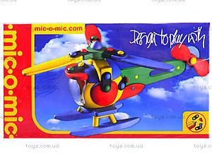 Пластиковый конструктор для детей «Вертолет», 089.006, отзывы