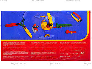 Пластиковый конструктор для детей «Вертолет», 089.006, цена