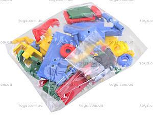 Конструктор пластиковый для детей «Тягач», 089.177, купить