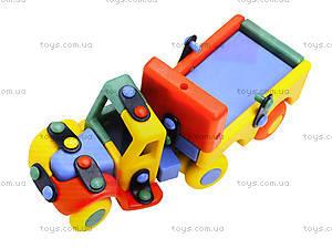 Конструктор пластиковый для детей «Тягач», 089.177, фото