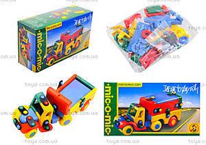 Конструктор пластиковый для детей «Тягач», 089.177
