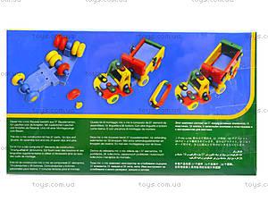 Конструктор пластиковый для детей «Тягач», 089.177, отзывы
