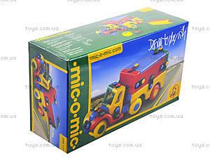 Конструктор пластиковый для детей «Тягач», 089.177, цена