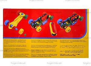 Пластиковый конструктор «Гоночный автомобиль», 089.178, игрушки