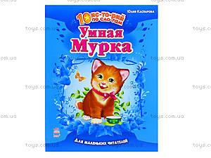 Детская книга историй по слогам «Умная Мурка», С271003Р, отзывы