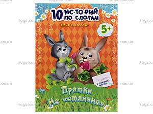 10 ис-то-рий по сло-га-м с дневником «Прятки на отлично», С271023Р1123, цена