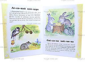 Книга «10 ис-то-рий по сло-гам: Лесной концерт», С15986У, фото