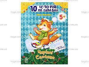10 ис-то-рий по сло-гам «Волшебные санки», С271010У, цена