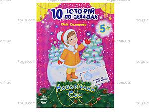 10 ис-то-рий по сло-гам «Новогодний сон», С271014У, цена