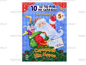 10 ис-то-рий по сло-гам «Настоящий Дед Мороз», С271016У, цена
