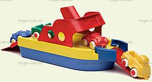 Пожарный корабль с машинками, 1099