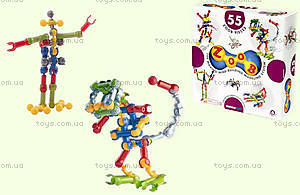 ZOOB конструктор подвижный детский, 55 деталей, 11055
