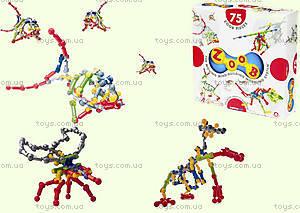 ZOOB конструктор подвижный детский, 75 деталей, 11075