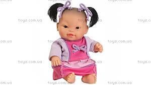 Кукла-пупс «Азиатка в наряде осень-зима», 116