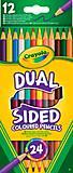 12 двухсторонних цветных карандашей, 68-6100, отзывы