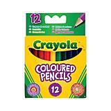 12 коротких цветных карандашей, Crayola (176555), 4112, фото