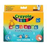 12 легко смываемых широких фломастеров, Crayola (176556), 8325