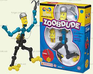Подвижный конструктор ZOOB Dude «Скалолаз», 12002