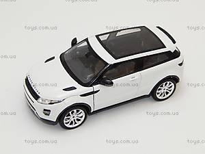 Коллекционная машинка Land Rover Range Rover Evoque, 24021W