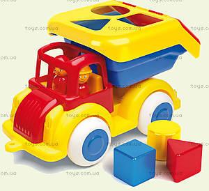 Детский грузовик «Сортер» с человечками, 1258