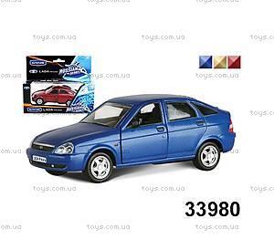 Игрушечная машина Lada Priora «Гражданская», 33980