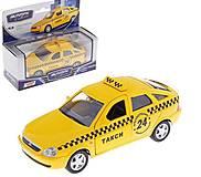 Игрушечная машина Lada Priora «Такси», 33986, отзывы
