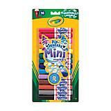 14 мини маркеров на водной основе легко смываемых, Crayola (176561), 8343, фото