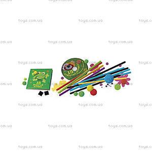 Набор «15 пушистых игрушек из проволочек и помпончиков», , купить
