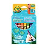 16 трехгранных восковых мелков, 2+  Crayola (176564), 52-016Т