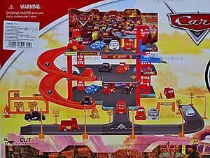 2-х этажный паркинг «Тачки», с машинками, P1199, игрушки