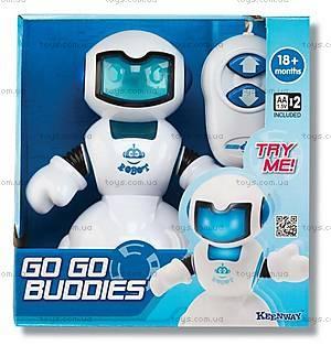 Игрушечный робот-киборг, синий, K13406