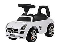 Детская каталка Mercedes SLS AMG лицензия, белый, U-041 W