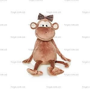 Мягкая обезьянка «Аленка с бантом», MT-TS0215035