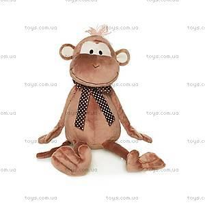 Мягкая обезьянка «Юрик с бантом», MT-TS0215037