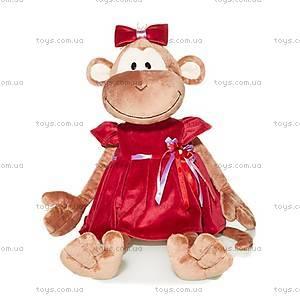 Игрушка «Обезьяна Маруся», в платье, MT-TS0215014