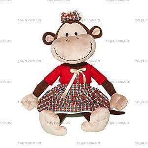 Игрушка «Обезьяна Дашенька», в платье, MT-TS0215008