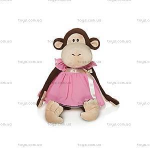 Мягкая игрушка «Обезьянка Верка», в платье, MT-TS0215019