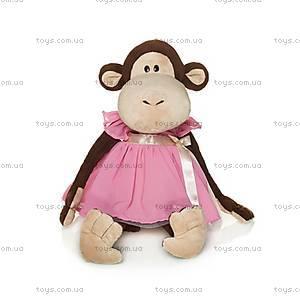 Плюшевая игрушка «Обезьяна Верка», в платье, MT-TS0215020