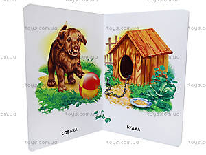 Книга «22 картинки: Кто в домике живет?», А15590У, фото