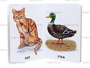 Книга серии 22 картинки «Домашние животные», А231033Р, фото