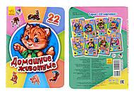 Книга серии 22 картинки «Домашние животные», А231033Р, купить